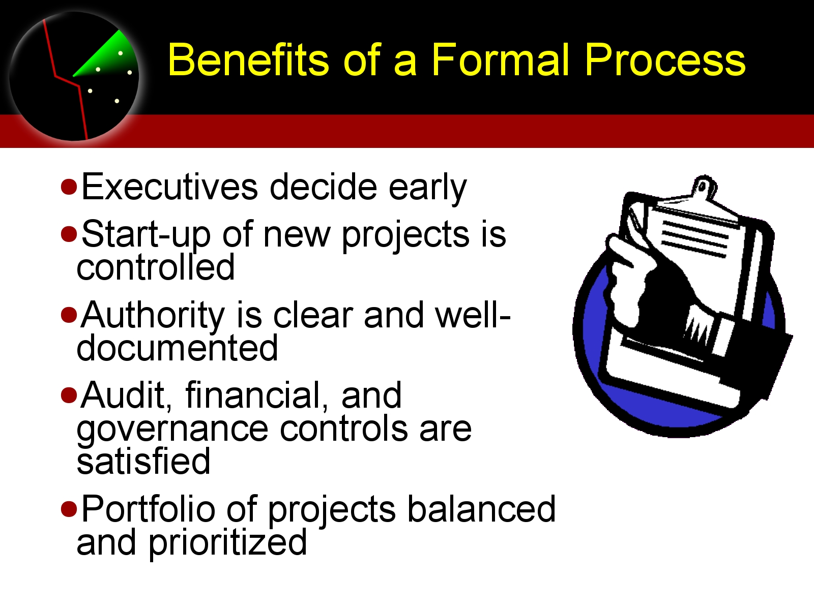 Maturity and Formal Process