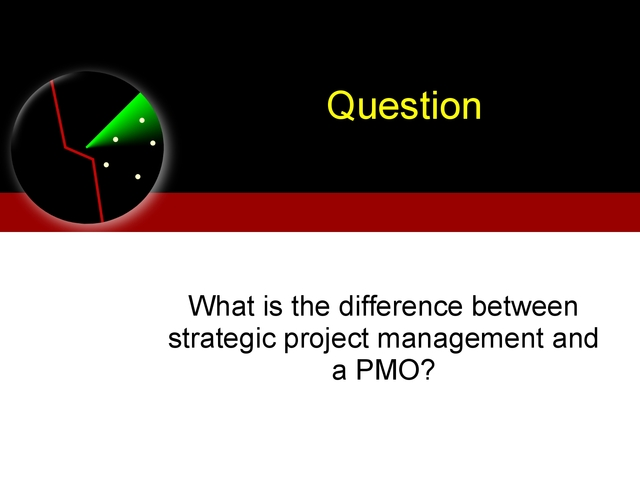 PMOs and Getting a Say In Strategy